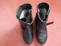 Prexport black waterproof boots Size 9