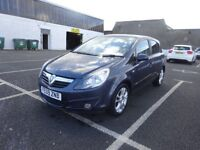 2009 VAUXHALL CORSA SXI 1.2 PETROL,1 OWNER CAR,FULL YEAR MOT,2 REMOTE KEYS,FULL SERVICE HISTORY