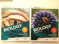 Biology A level text books - brand new ✨