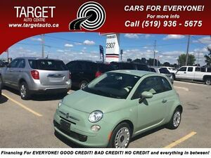 2013 Fiat 500 Low Kms, Drives Great Very Clean and More !!!!!