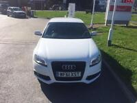 """2011 """"61"""" - IBIS WHITE - Audi A3 2.0 Tdi S/S - S Line BLACK Edition - BOSE + LED PACK - Golf GT GTD"""