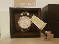 Michael Kors watch LADIES - PERFECT CONDITION NEW BATTERIES