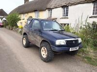 Suzuki Grand Vitara off road mot'd