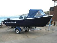 TALISMAN 465 FISHING PACKAGE COMPLETE WITH 20HP TOHATSU - UK WIDE DELIVERY - FULL WARRANTY