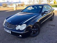 2002 MERCEDES CLK 320 ++ ALLOYS ++ LEATHER ++ ELECTRIC WINDOWS ++ CD ++ NOVEMBER MOT.