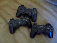 PS3 controllers spares or repair