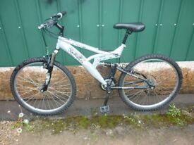mans suspension bike