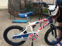 Kids bike 'Team GB'