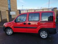 FIAT DOBLO, 74K MILES, GLENEAGLES WHEELCHAIR CONVERSION, MOT DEC 2021,£850 JUST SPENT