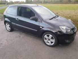 Ford fiesta 1.4tdci 2006 Black 3 door ONLY £30p/yr TAX NEW MOT 100% RELIABLE