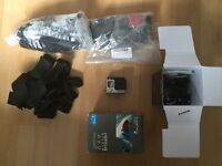 GoPro Hero4 Silver with multiple accessories