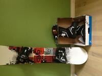 Snowboard SIMS, boots and Goggle brand new