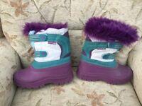 Child's snow boots
