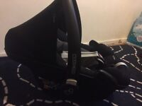 Maxi cosi pebble plus car seats x2