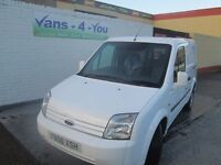 2008 ford connect short/low fully colour coded 65000 miles long mot NO VAT £3750