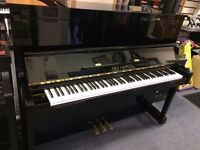 Yamaha upright piano and disklavier Model SX100RB1