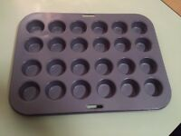 Mini-muffin non-stick pan, 24 muffins