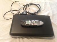 Thomson freeview recorder 160gb remote and leads all reset and ready to go