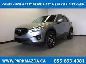 2015 Mazda CX-5 GT - Leather, Heated Seats, Bluetooth, Moonroof