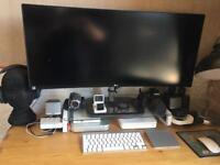 Mac mini and 34 inch curved monitor want iMac 27 5k