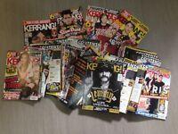KERRANG Rock magazines, stash of 60+