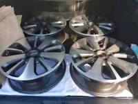 Ssangyong 18 inch alloys