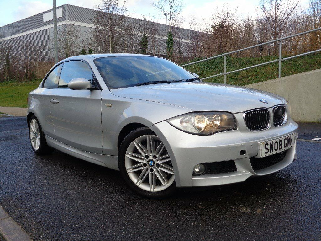 2008 BMW 1 SERIES COUPE 123D M SPORT MANUAL DIESEL, HPI CLEAR ,FSH ...