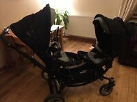Obaby Zoom Tandem Travel System (twin buggy)