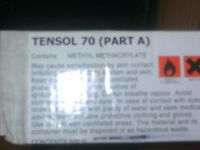 tensol 70 acrylic adesive