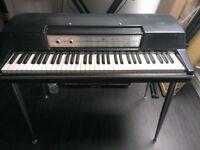 Wurlitzer 200A electric piano with flight case