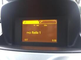 Vauxhall Corsa d gid clock display screen
