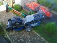mac allister self propelled petrol lawnmower