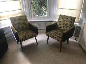 Pair of Mid Century Modern Danish Chairs