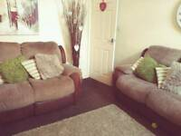 2x2 seater reclining sofas. £275 or a decent offer
