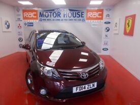 Toyota Avensis D-4D EXCEL(£30.00 ROAD TAX) FREE MOT AS LONG AS YOU OWN THE CAR!! (red) 2014