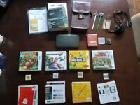 New Nintendo 3DS XL with 99 Games, Charger and Case