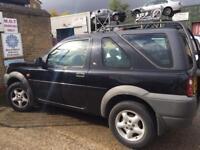 Land Rover freelander 1.8 petrol registered 2000