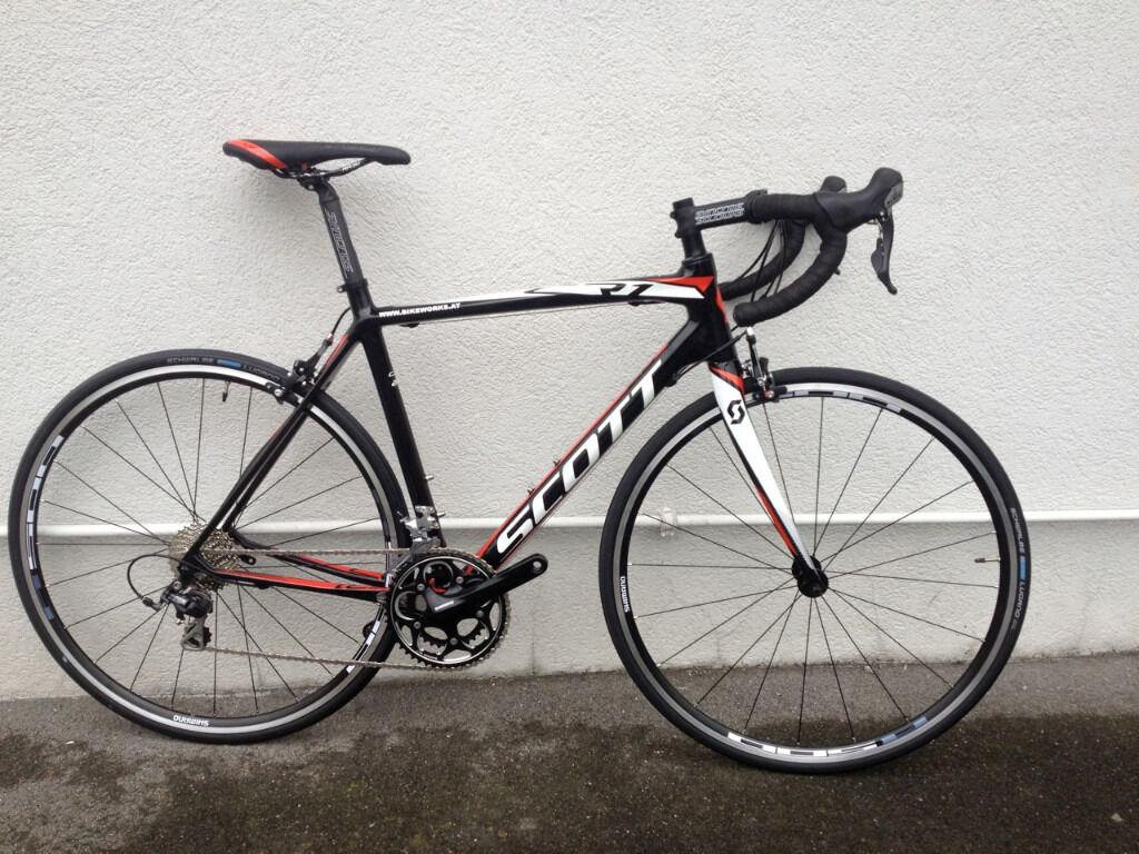 Full Carbon Road Bike Scott Cr1 20 2014 Size 54 In