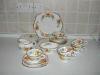 Antique Royal Albert China Tea Set