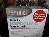 Air purifier by homedics