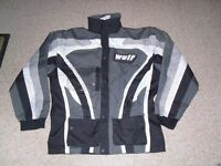 WULFSPORT ENDORO MX JACKET EXCELLENT CONDITION SIZE LARGE