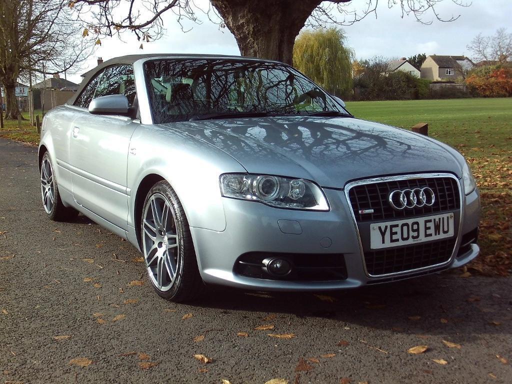 Audi A4 TDi S Line Special Edition (aluminium silver) 2009