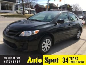 2013 Toyota Corolla CE/LOW, LOW KMS!/PRICED FOR A QUICK SALE !
