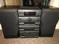 Pioneer stereo with mission speakers