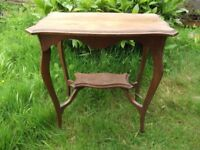 Solid Oak Ocaisional /Console Table