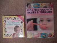 2 baby/toddler cook books