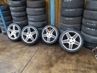 Mercedes benz 5 spoke amg alloy 5 studs cls c class e class slk clk