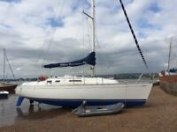 Yacht 1999 Dufour 32 Classic Integral with lifting keel