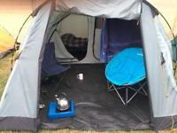 Vango circa 400. 4 person tent and package
