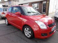 2009 Suzuki Swift 1.5 GLX 3 door lovely car just serviced and long mot